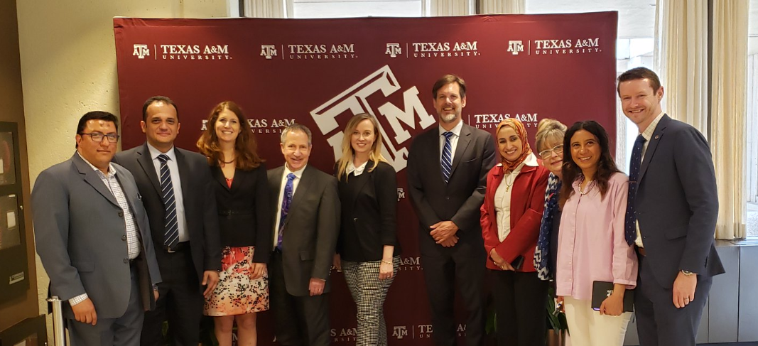 TIEC visits with Egyptian officials from its Ministry of Higher Education and Scientific Research at Texas A&M University in College Station, Texas.