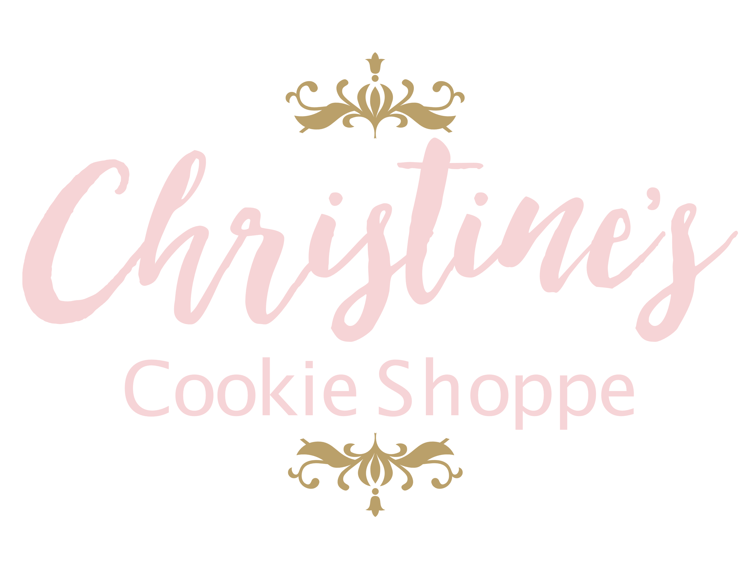 Christines Cookie Shop logo pink with crowns.png