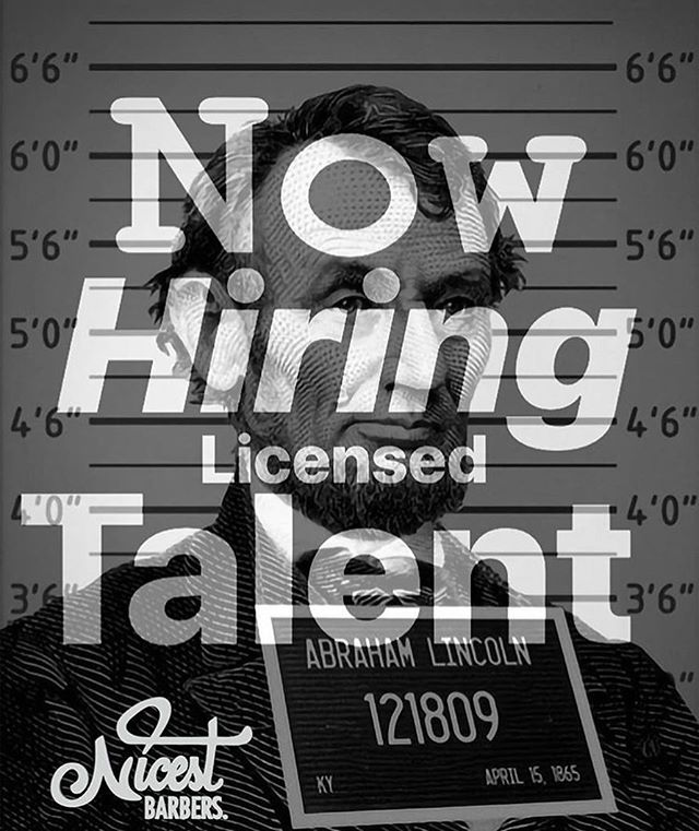 I am looking for AMBITIOUS LICENSED TALENT with the will to grow in a promising company. #NicestBarbers. #Miami #MiamiBarbers #BarbershopInCoralGables #SouthMiami #MerrikPark