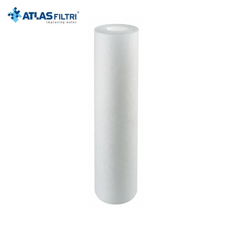 Polipropileno - Desde S/. 26Porosidad: 1, 5, 10, 25, 50 micraFlujo: max 2000L / horaProcedencia: ItaliaCapacidad: 6m