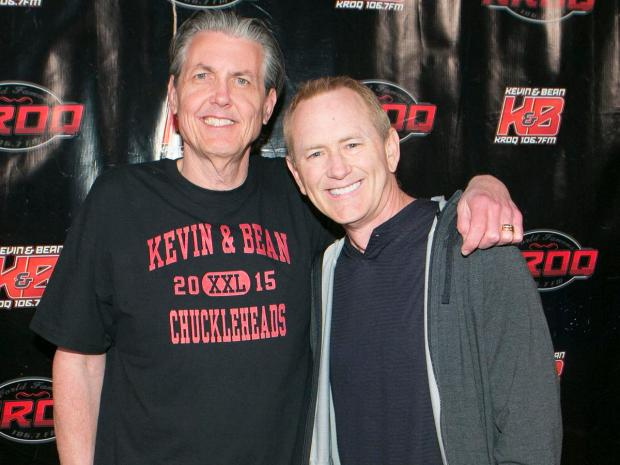 "Kevin & Bean - Kevin and Bean have been the hosts of Entercom's World Famous KROQ in Los Angeles for 30 years, making it one of the longest running morning shows in the country.Over the years, Kevin and Bean's program has included personalities including Jimmy Kimmel, Adam Carolla and Dr. Drew. Gene ""Bean"" Baxter will call this, his 30th year with KROQ, his last as he takes on the new adventure of moving overseas to the UK at the end of the year. Kevin Ryder, who has also been with the iconic show for 30 years, will continue the KROQ tradition of being one of the most influential alternative stations in the US.They were inducted into the NAB Hall of Fame in 2015."