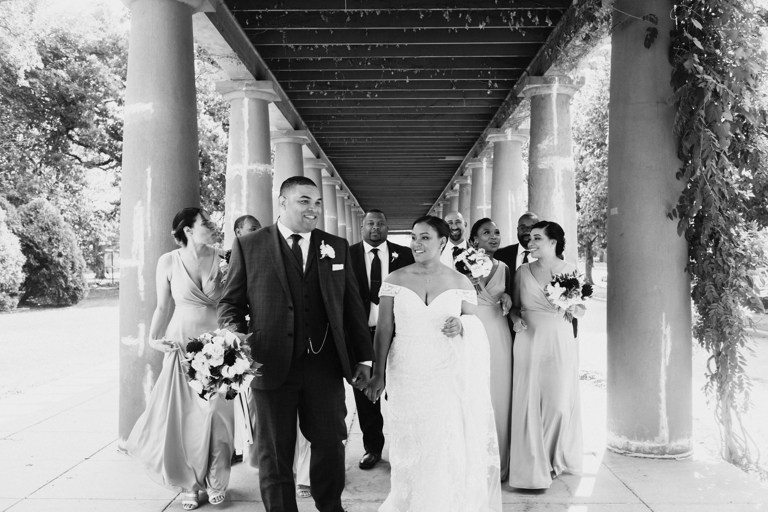 Chicago bridal party