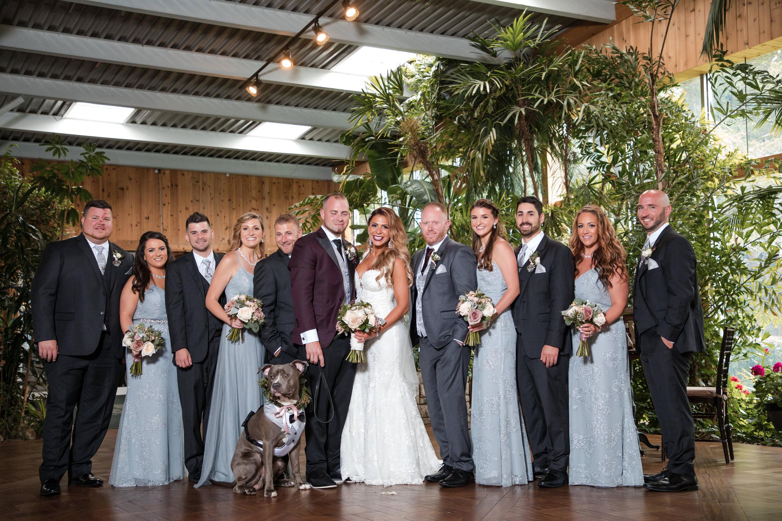 long island wedding party