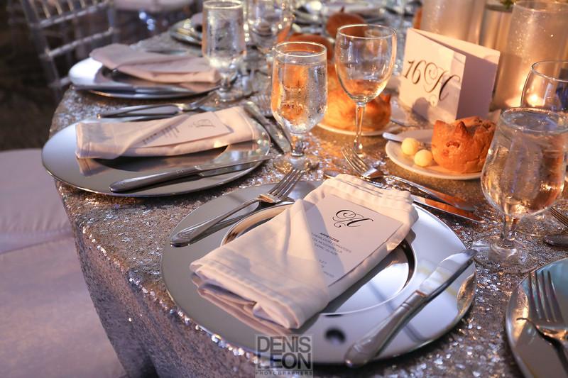 sweet 16 table design