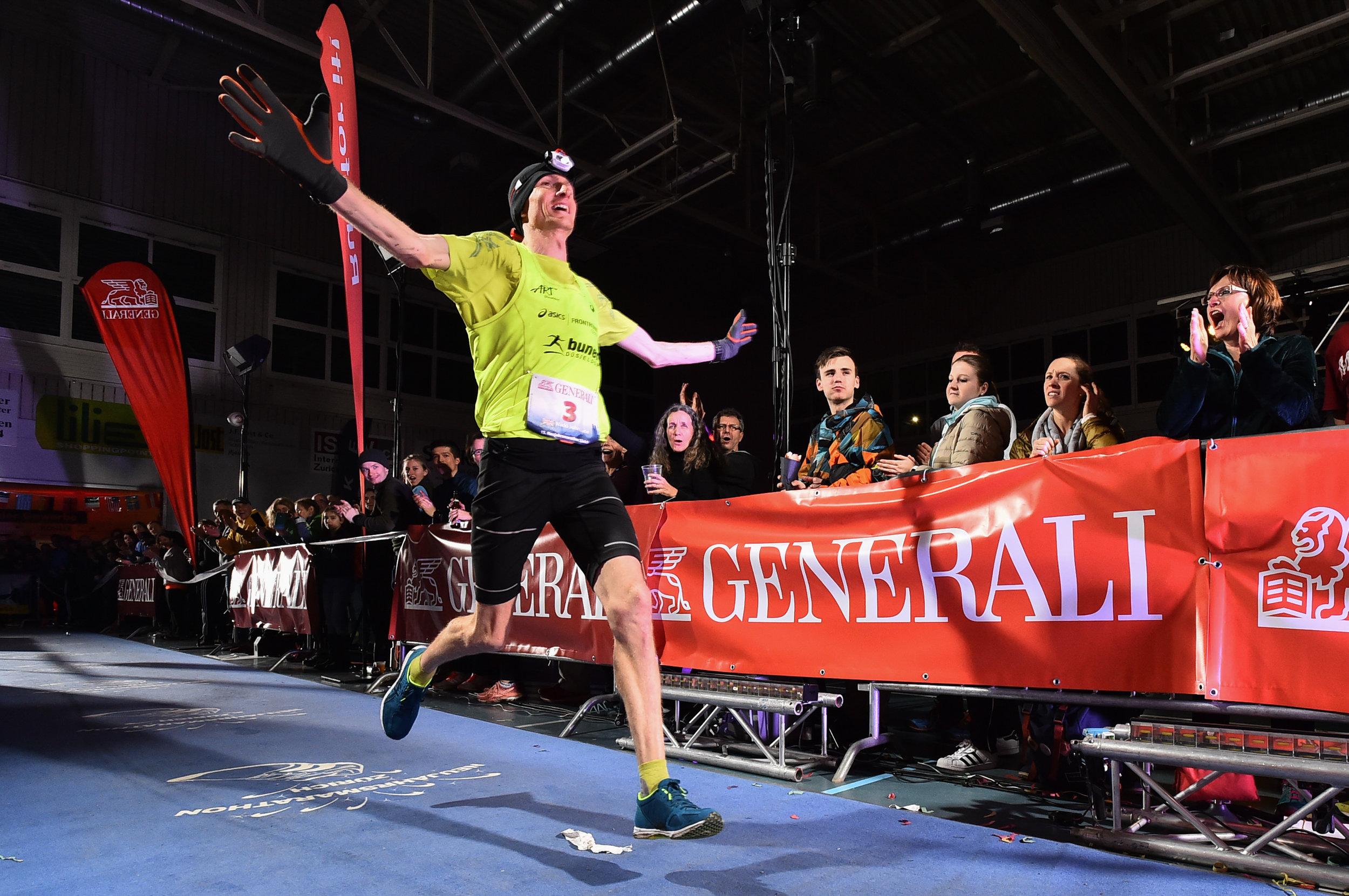 Marathonsieger Nikki Johnstone