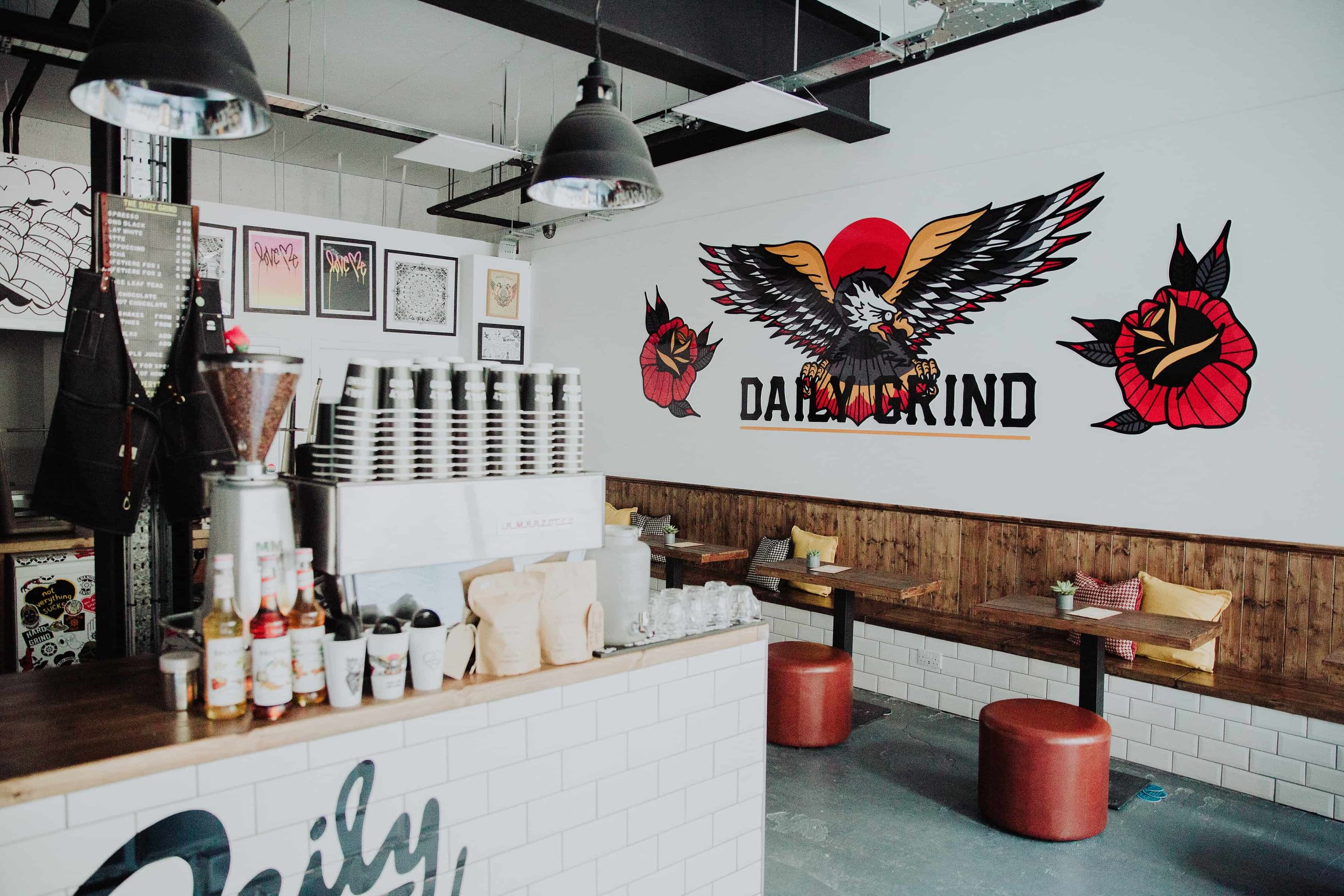 Daily Grind HQ Dundee Coffee Bar