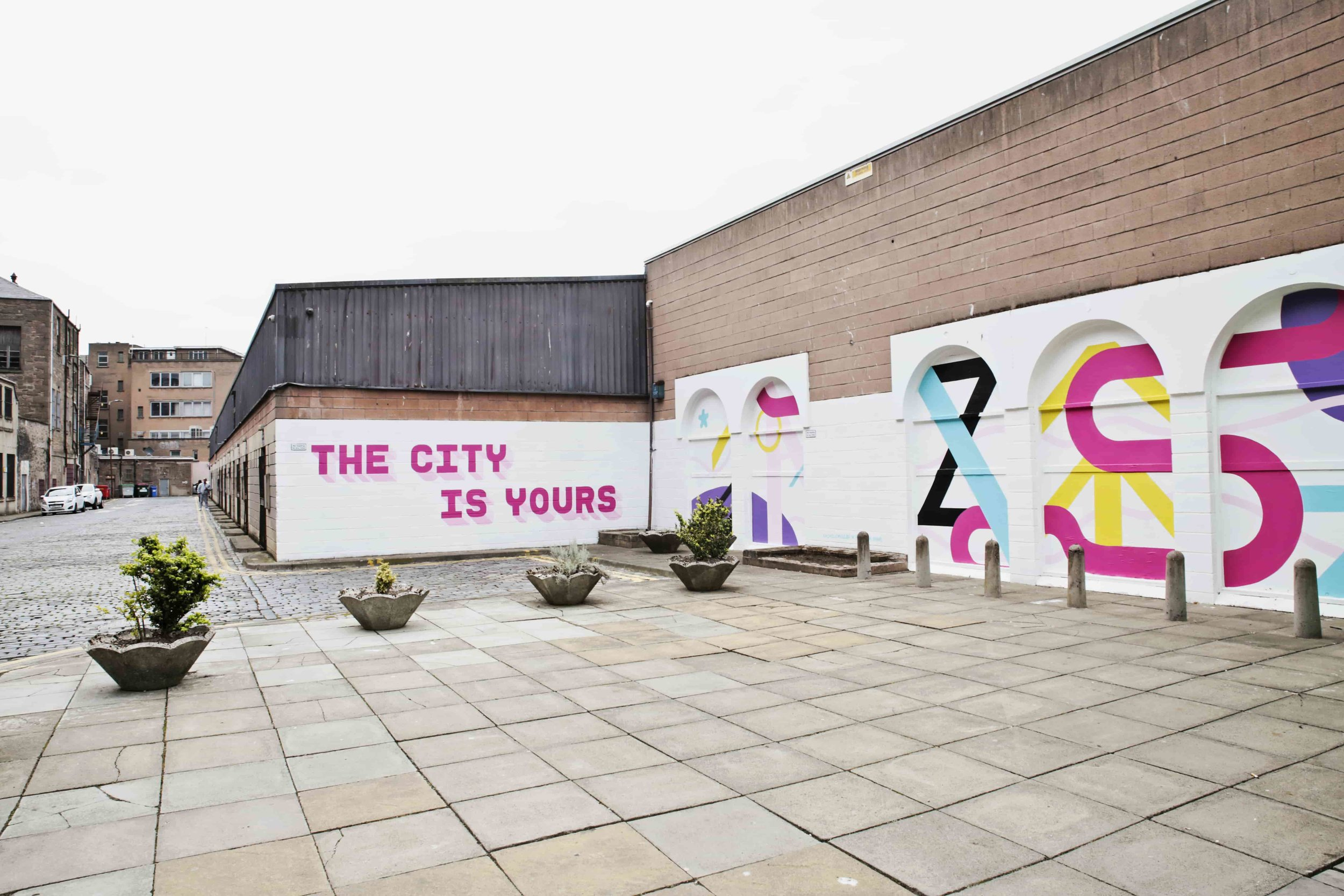 Keiller Centre Mural. The City Is Yours!