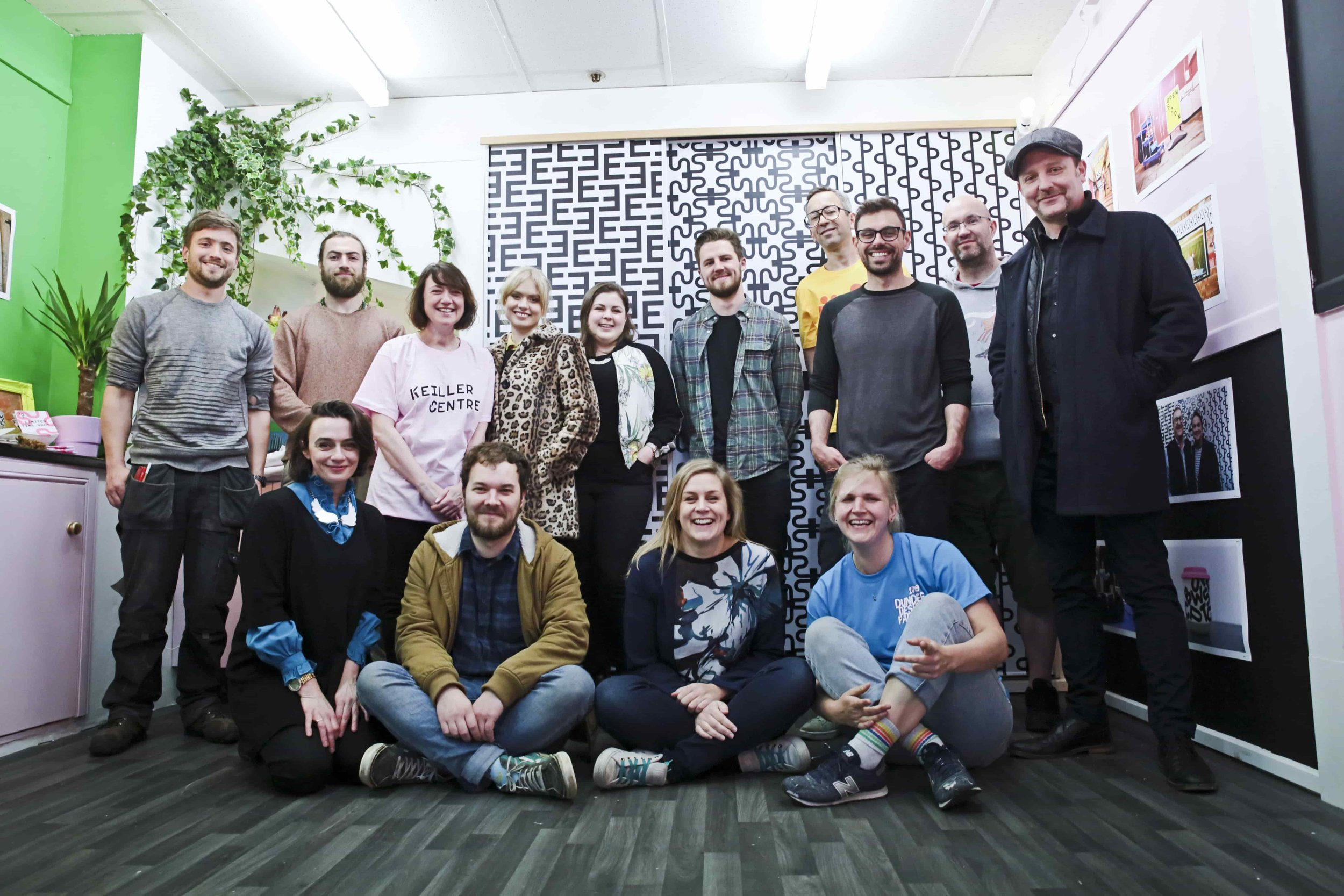 The Dundee Design Festival Team.