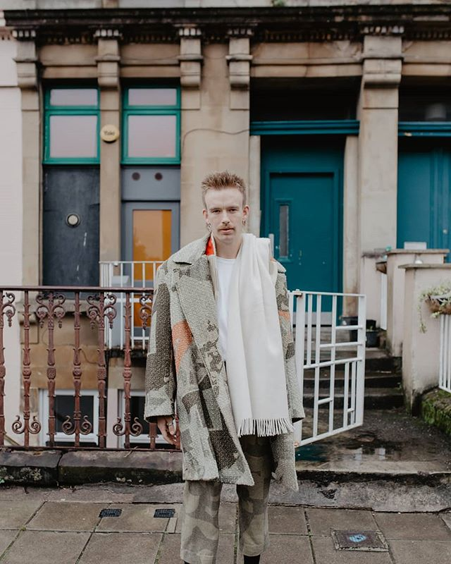 Getting some photos back from the v talented @theodoravanduin 〰️ Euan in Melton wool jacket and boucle wool overcoat  #menswear #menswearstyle #tailoredcollection #campaignforwool #glasgow #sustainablefashion #sustainabledesign #outerwear #mensouterwear