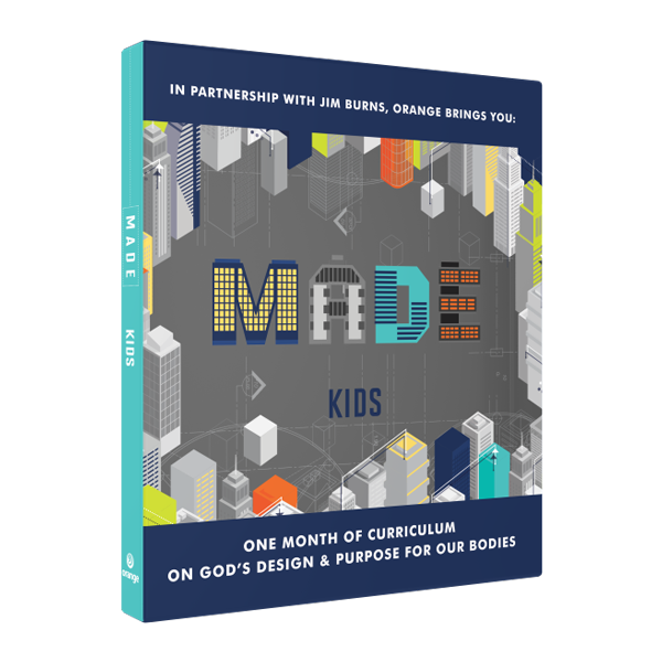 MADE Kids: One Month of Curriculum on God's Design & Purpose for Our Bodies