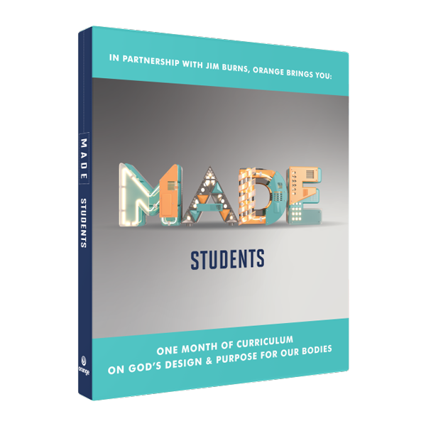 MADE Students: One Month of Curriculum on God's Design & Purpose for Our Bodies