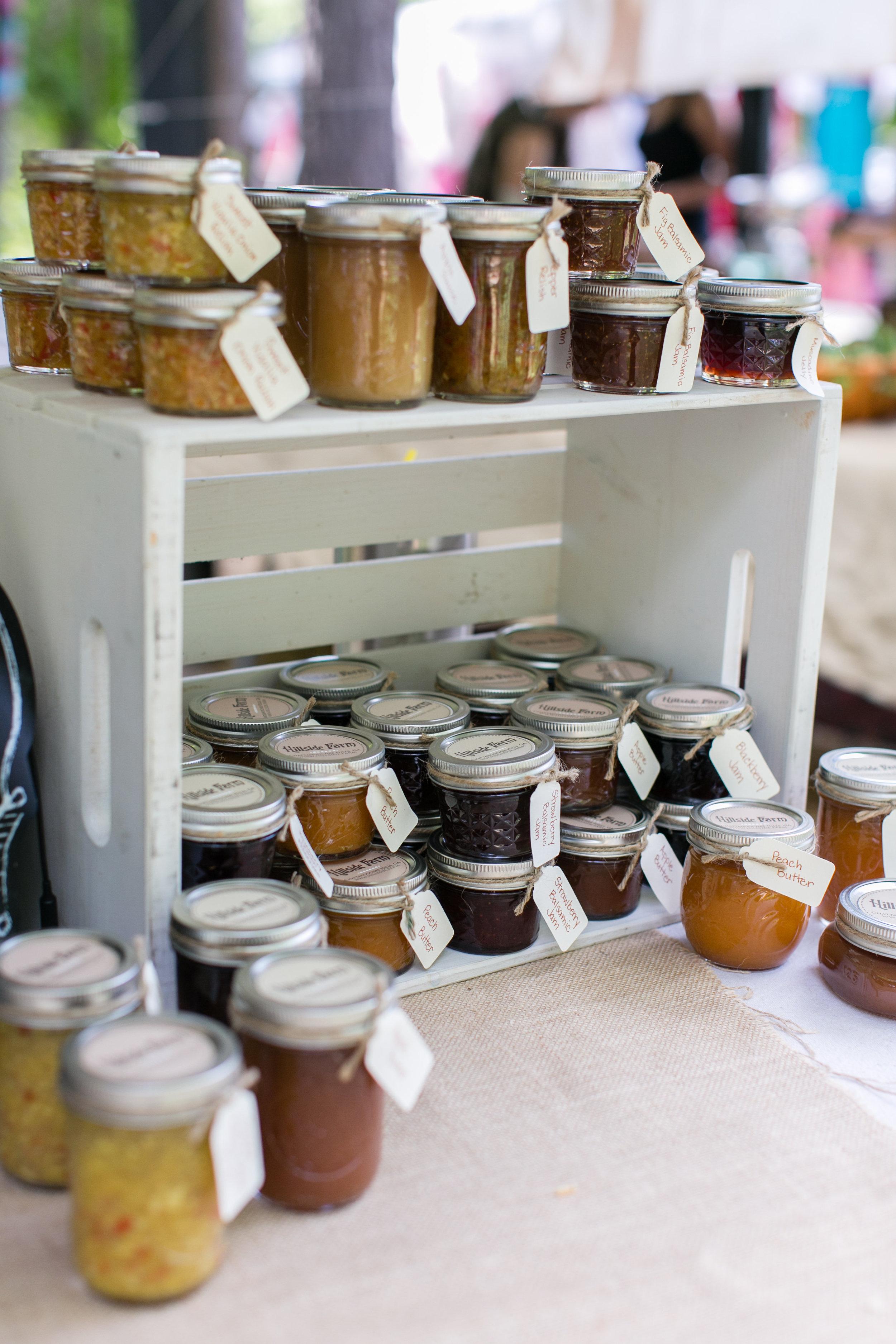 Hillside Farm   Chattahoochee Hills, GA  www.hillside.farm  Locally grown honey, homemade goods, vegetables and fruits