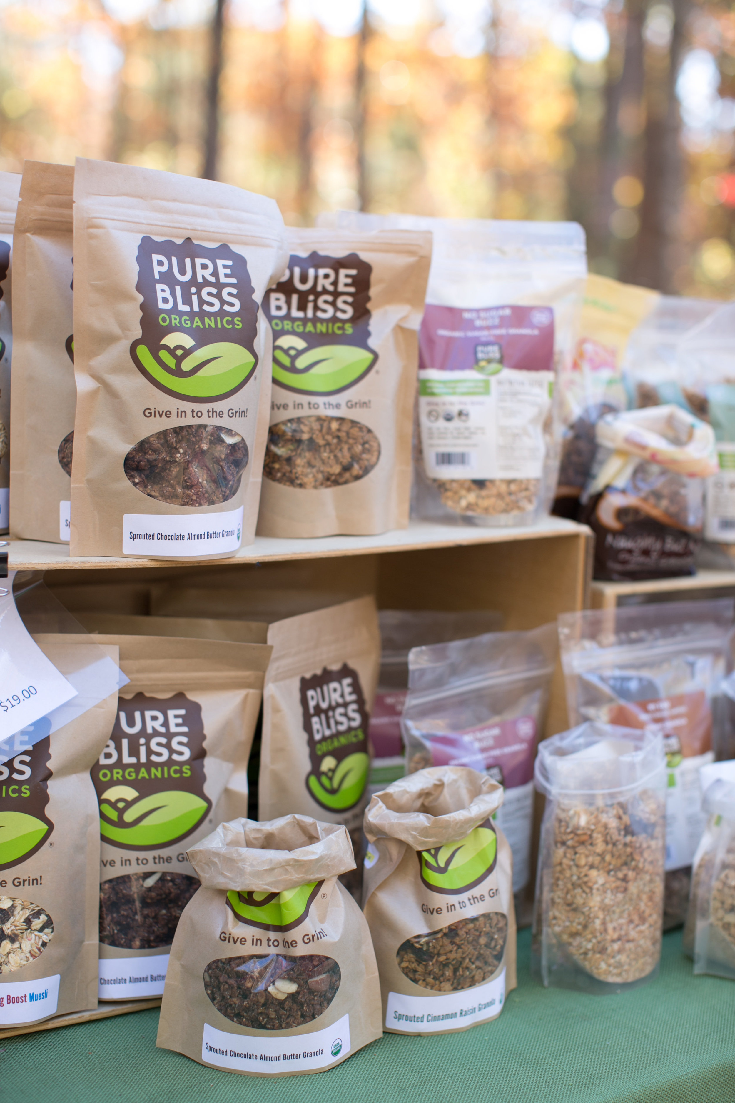 Pure Bliss Organics   Stone Mountain, GA   www.pureblissorganics.com   Packaged granola, energy bars and bites and gourmet nuts