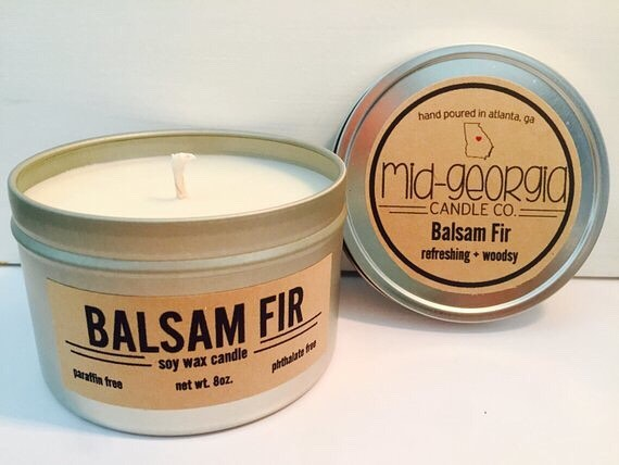 There's nothing like warm smells to accompany warm holiday hearts. Grab soy-wax candles from @midgacandleco Dec. 1.