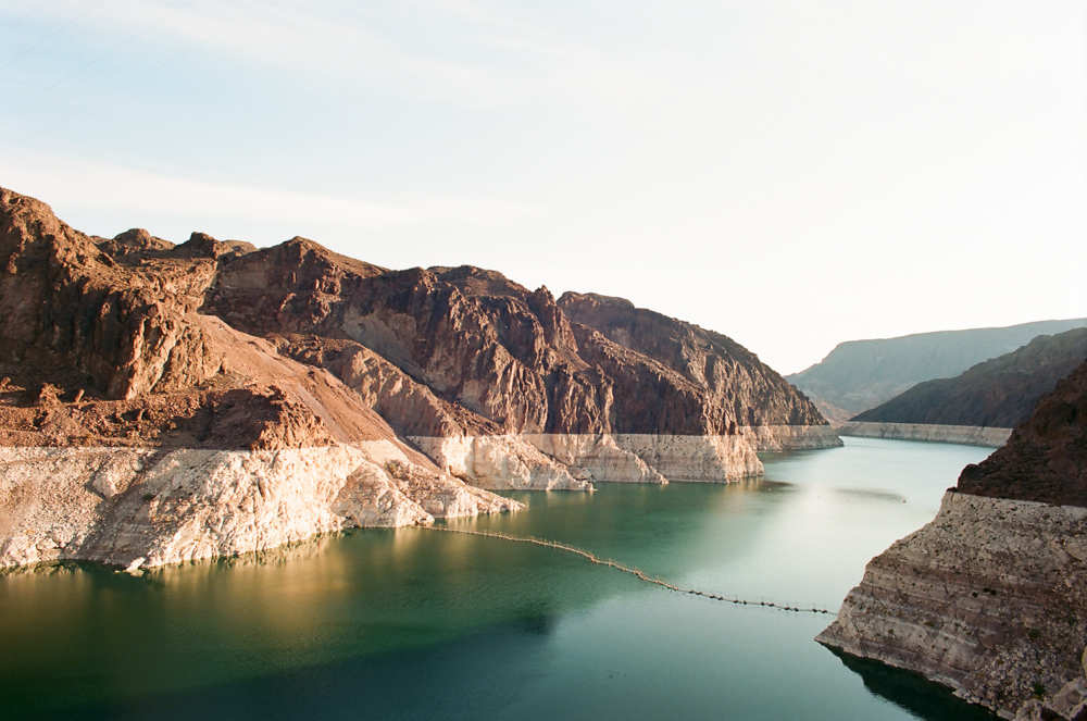 Lake Mead is almost 150 feet below the high water mark and is currently at 38% capacity