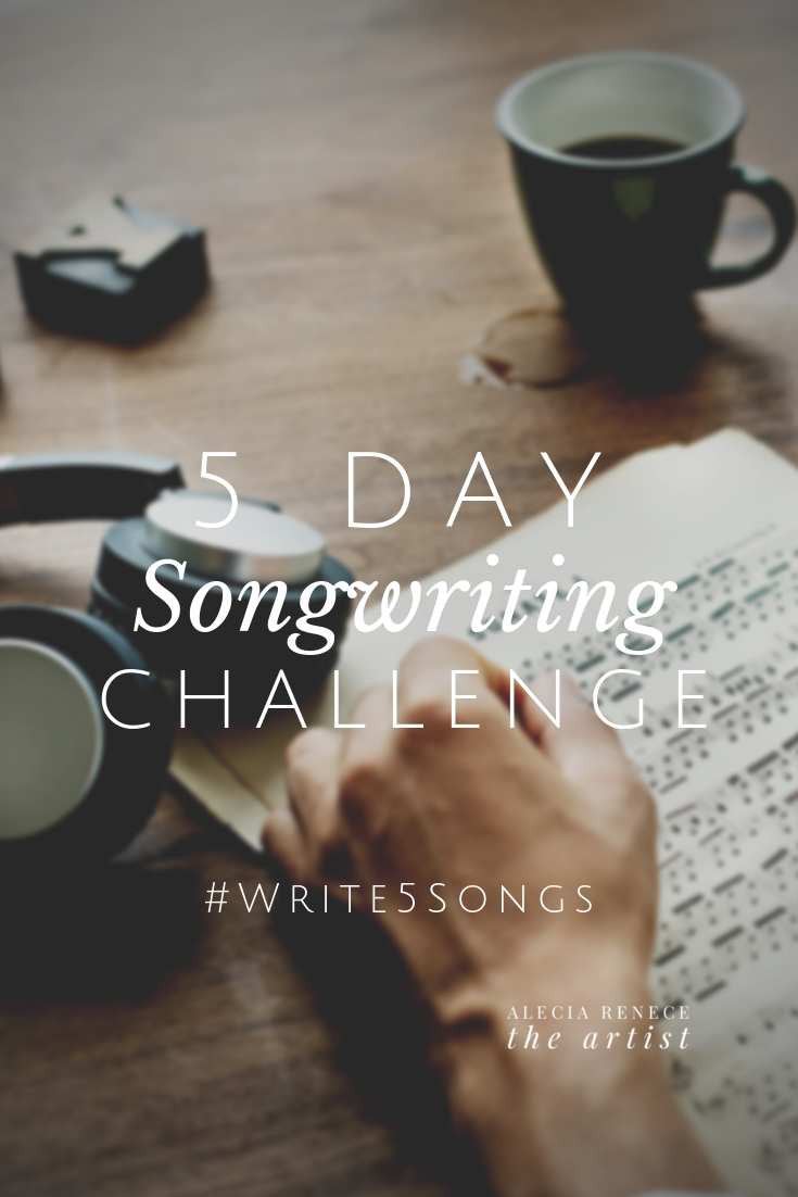 5 Day Songwriting Challenge