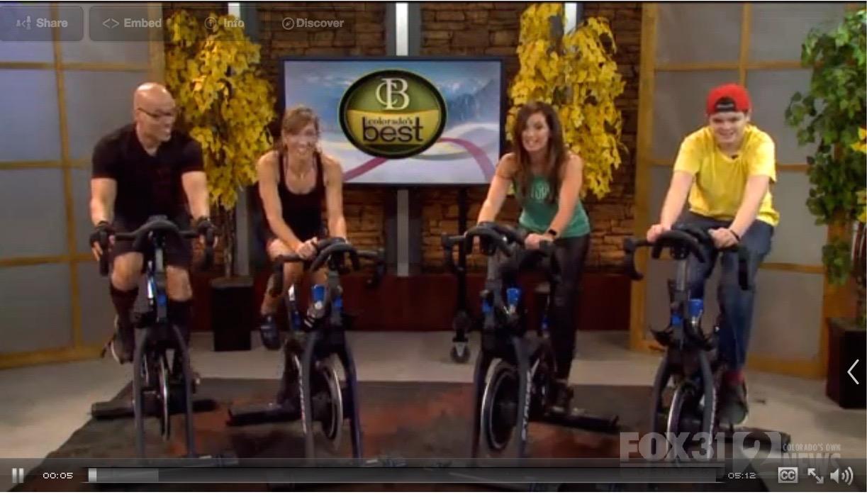 Joe is on the far left bike