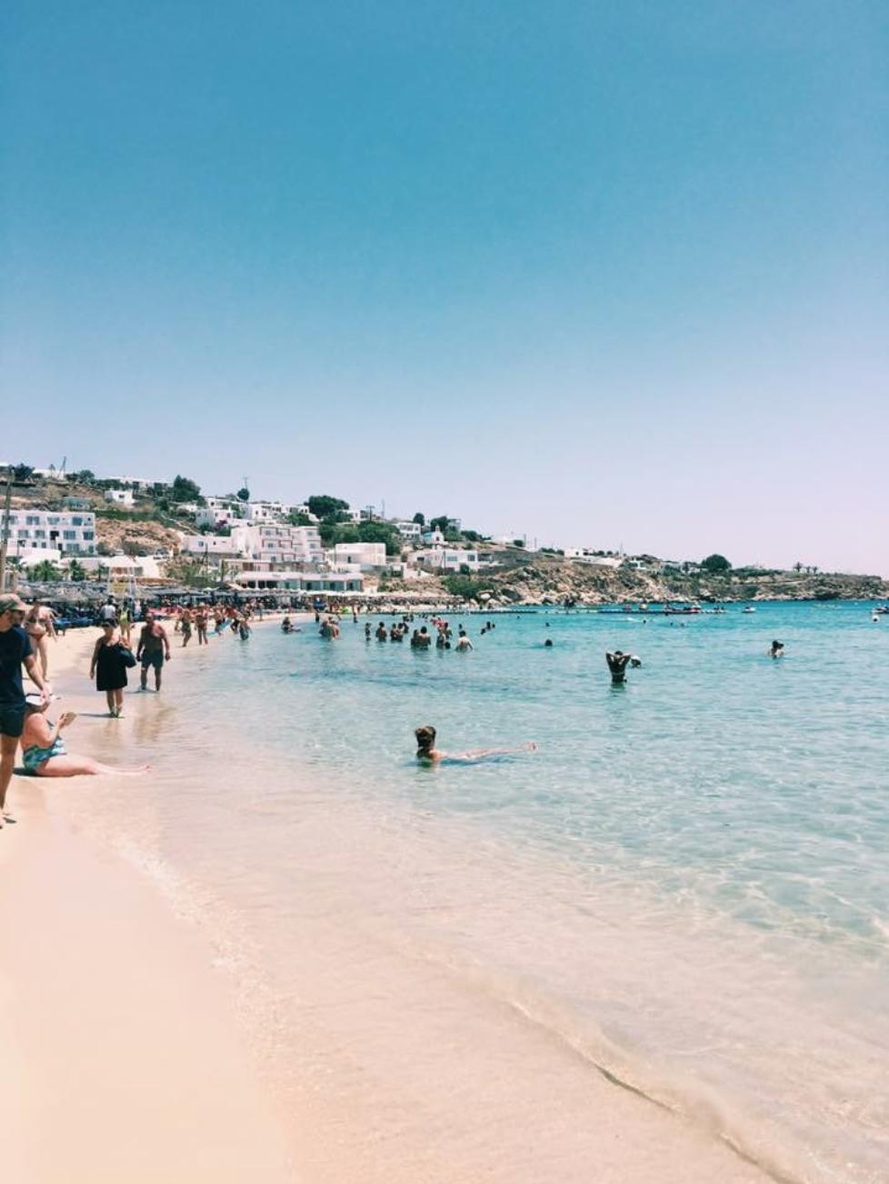 a sneak peek of my trip to the greek islands