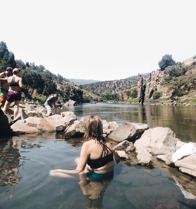 why you need to go to radium hot springs, colorado