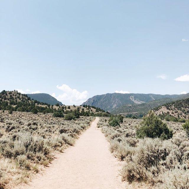 the trek to radium hot springs