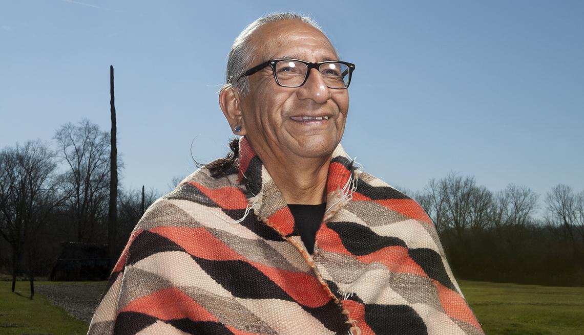 Hunkpapa Lakota Elder, Guy W. Jones is a member of the Standing Rock Sioux Nation.