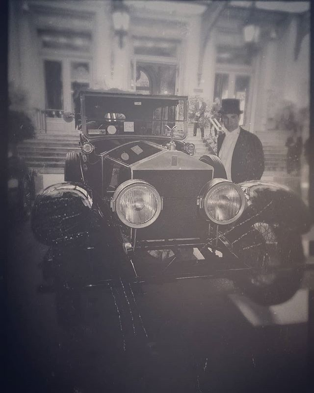 Happy to meet this 1923 Rolls Royce Silver Ghost outside the Casino de Monte Carlo whilst wearing my late Grandfather George Kenneth Tutton's tailcoat from the same decade. I do believe he had a very similar automobile many blue moons and amber sunsets ago.