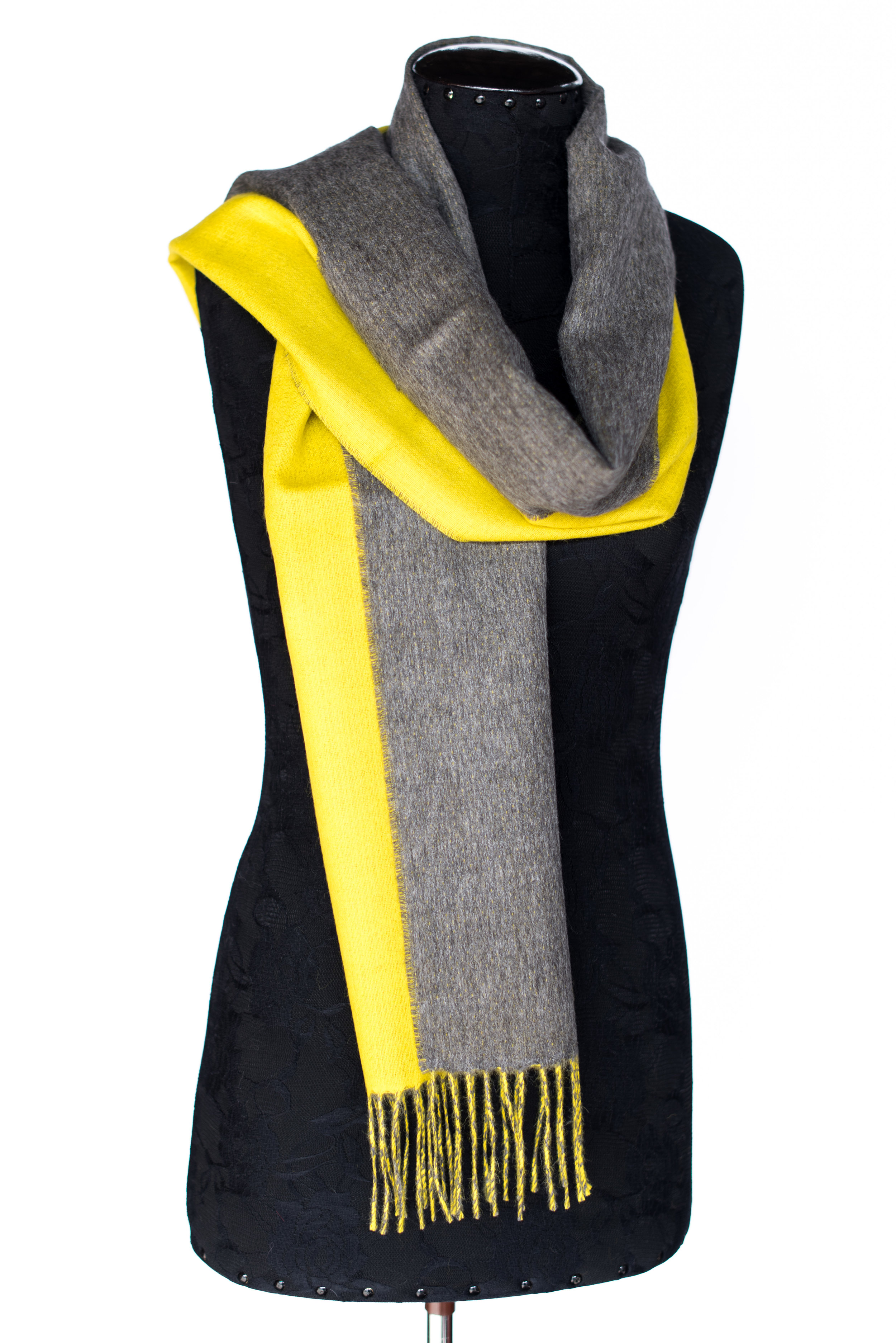 Double Faced Solid/ Solid Scarf -