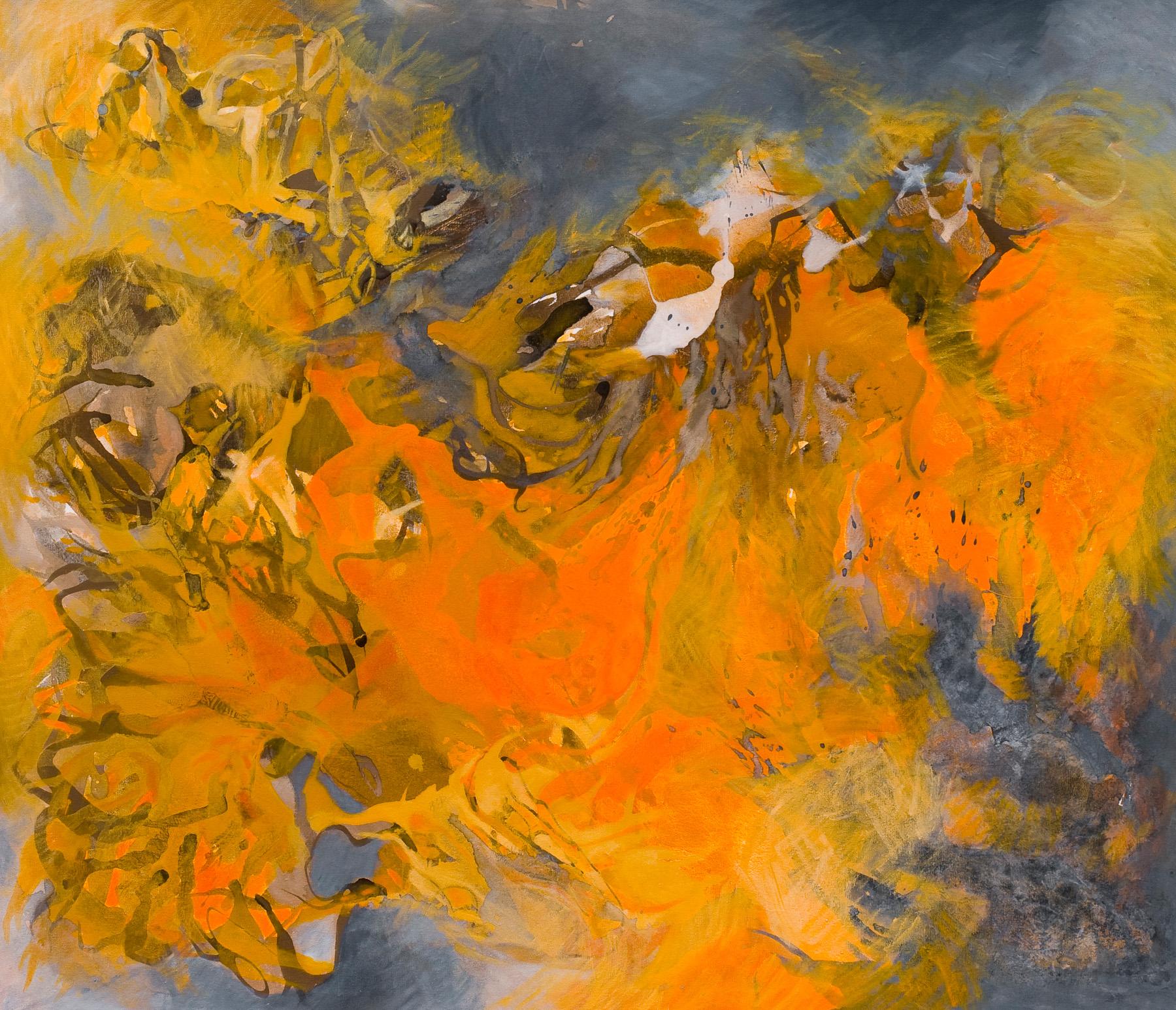 Tierra de Jaspe - Acrílico sobre tela - 130 x 150 cm