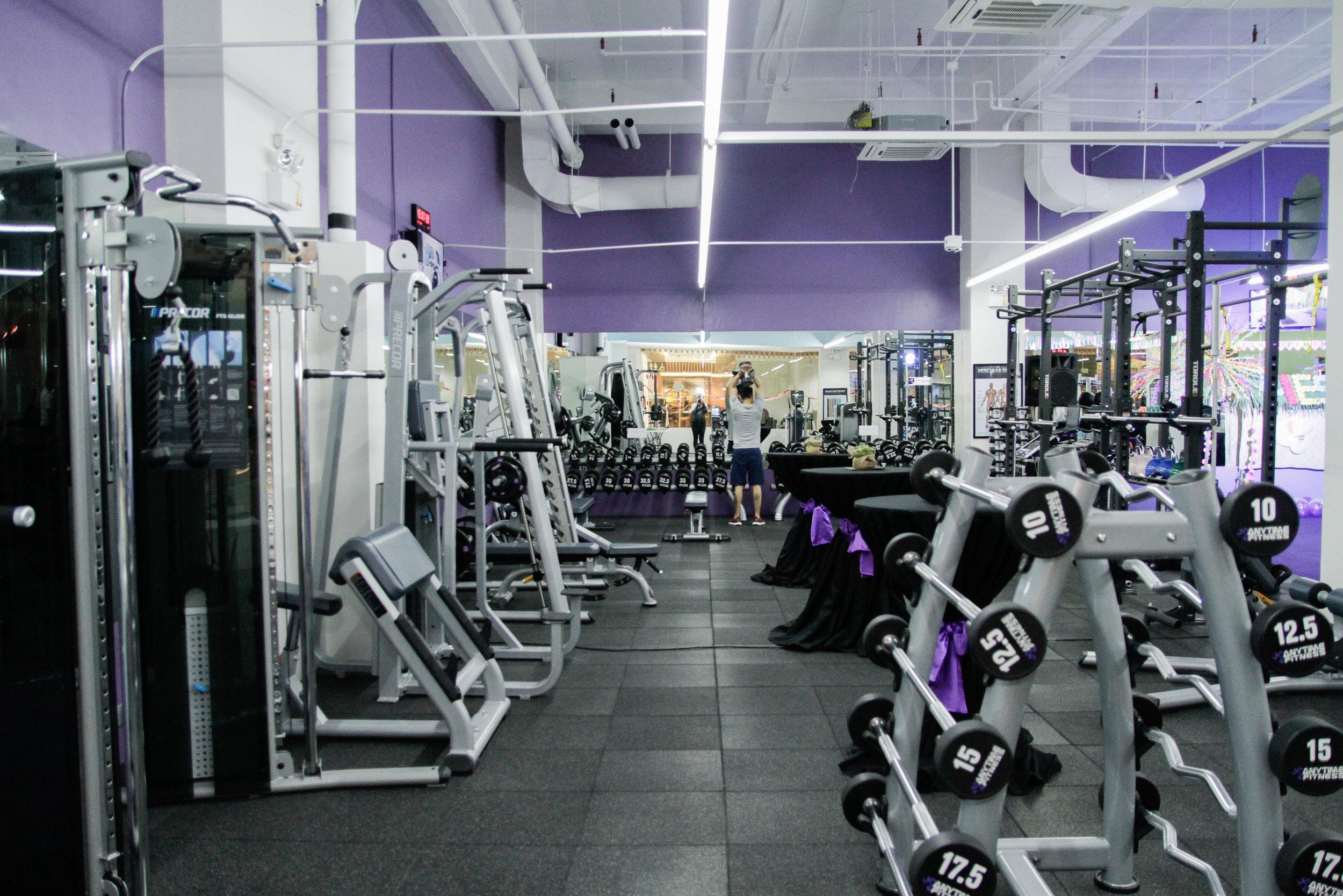 Typical Modern Gym