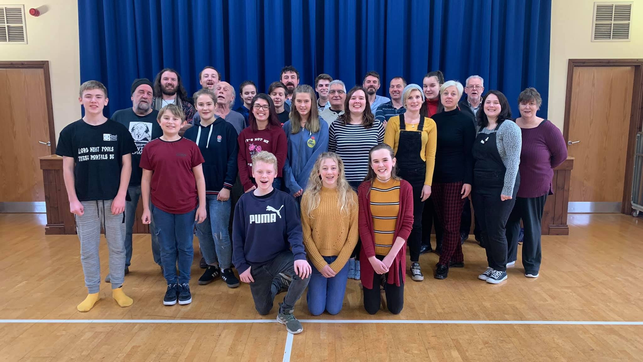 The Cast of Macbeth: Dartmouth Shakespeare Week 2019