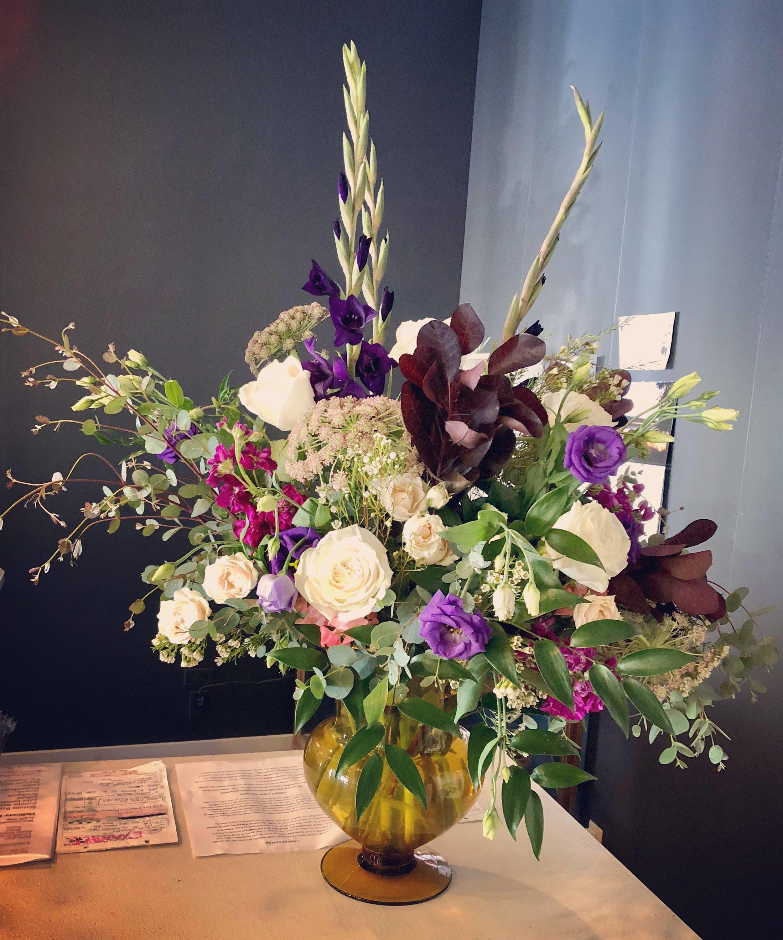 Arrangement for Guest Book Table