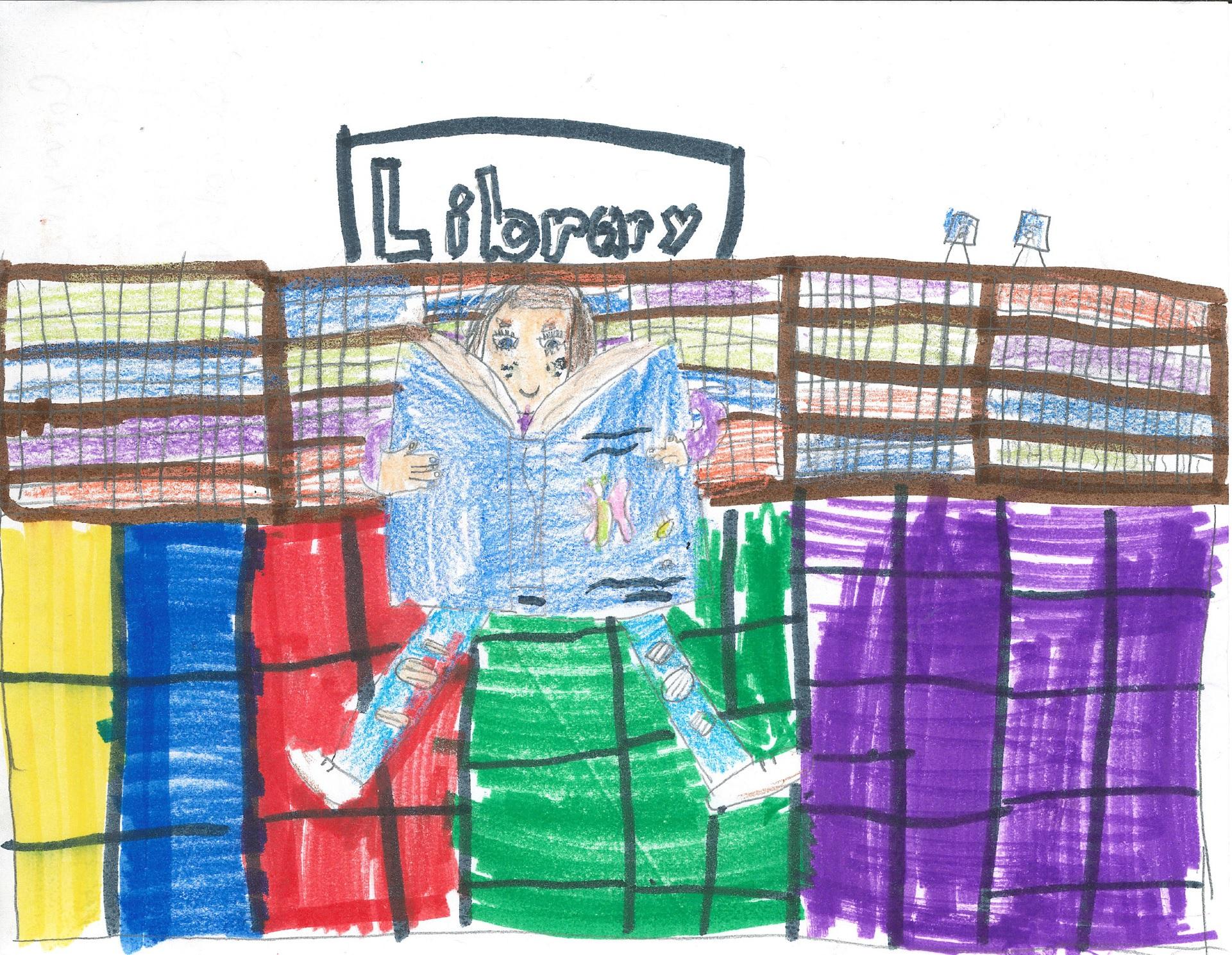 Calendar Cover, Corwyn 1st Grader at Ventura Park Elementary