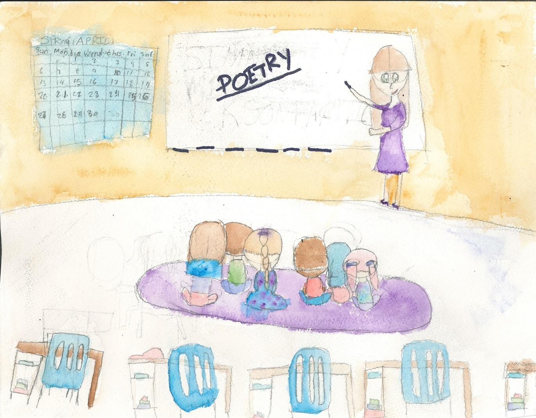 Izabel, 4th Grader at Ventura Park Elementary