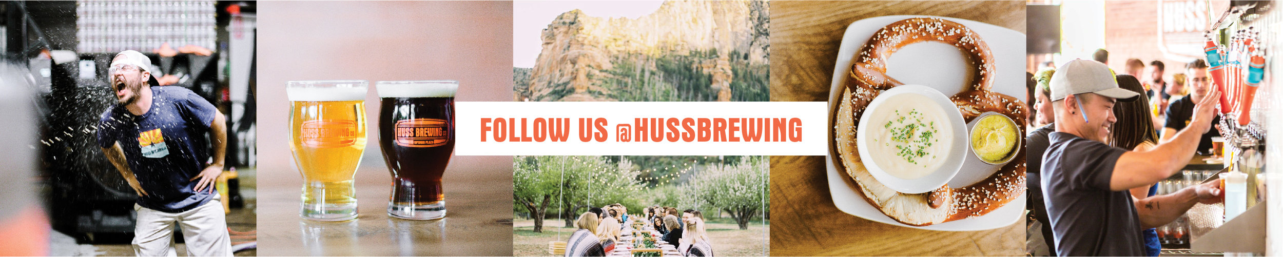 Follow Huss Brewing on Instagram - @hussbrewing