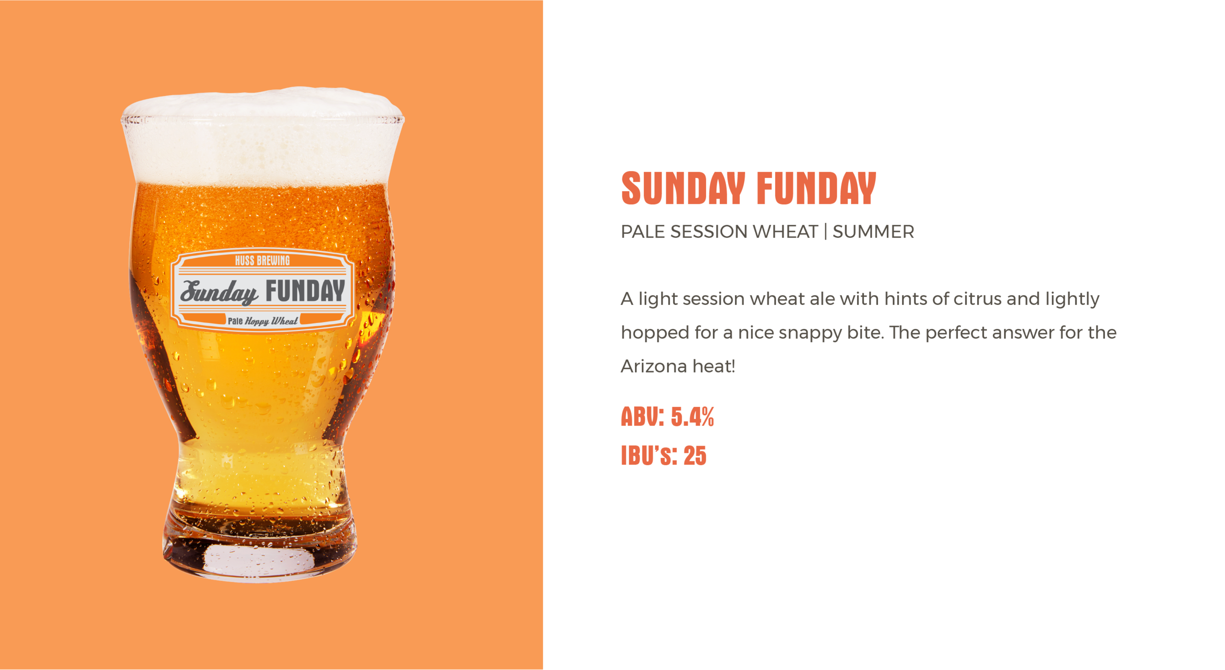 Huss Brewing Co Sunday Funday