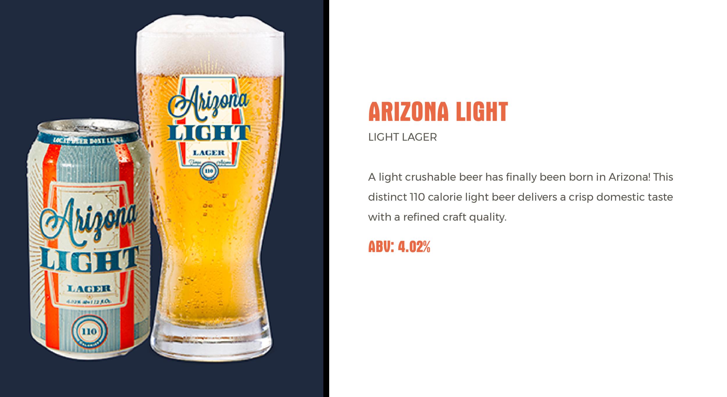Huss Brewing Co Arizona Light