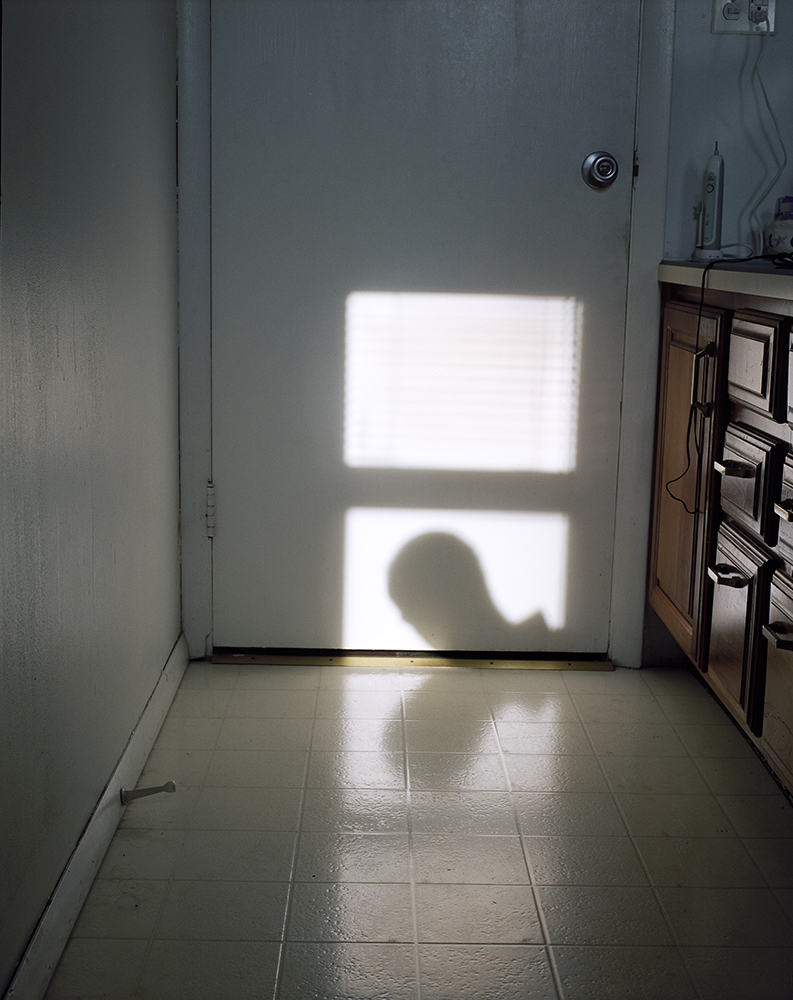 "18. Untitled (shadow, Janus). Inkjet print. 16"" X 20"". 2014."