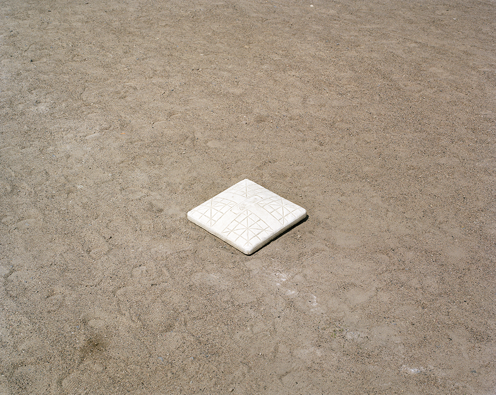 "57. Untitled (second base, Clinton Prison). Inkjet print. 20"" X 16"". 2013."