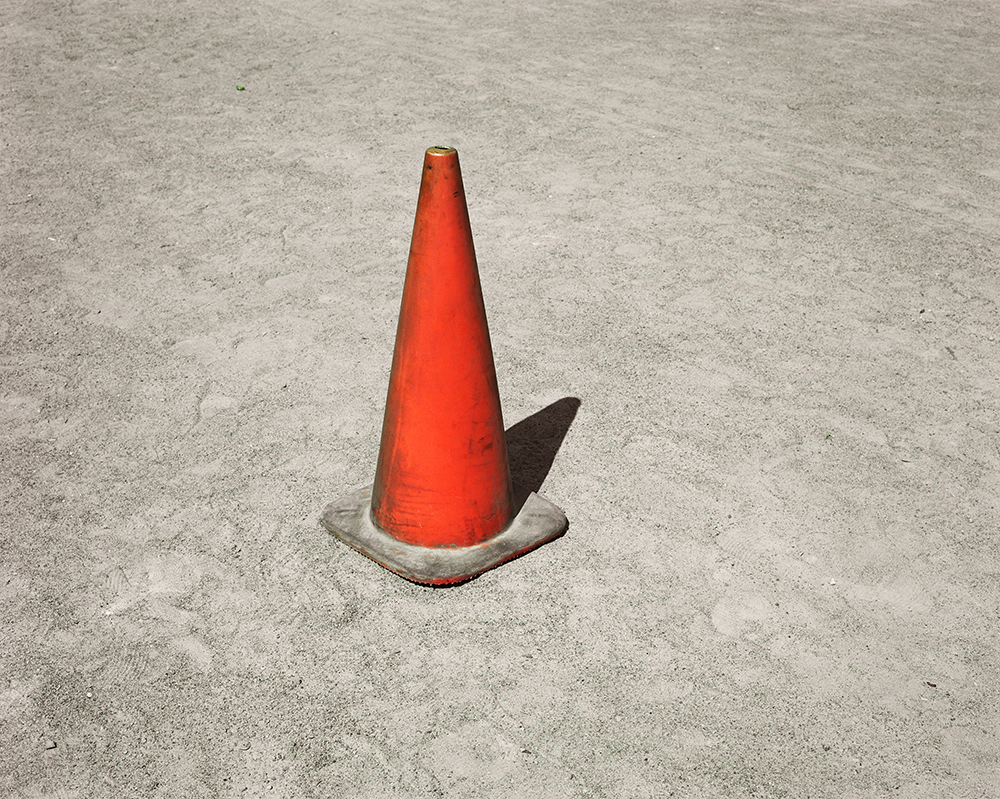 "60. Untitled (orange cone, Clinton Prison). Inkjet print. 20"" X 16"". 2013."