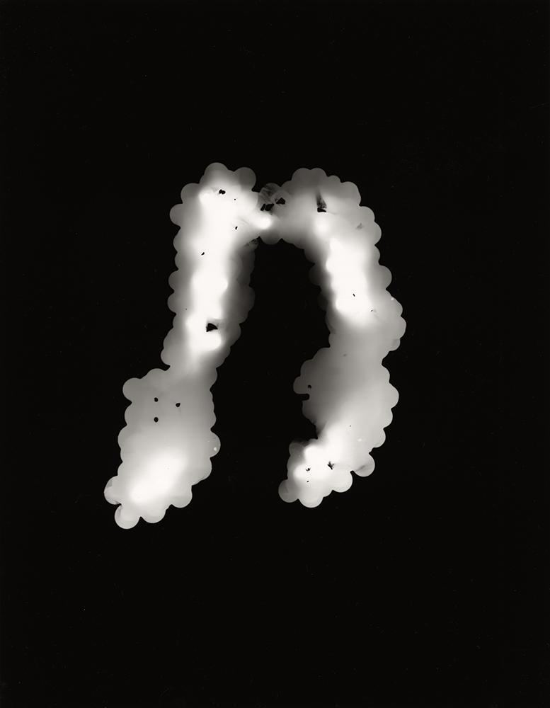 13. Untitled (specular cluster #15). 2017. Photogram.