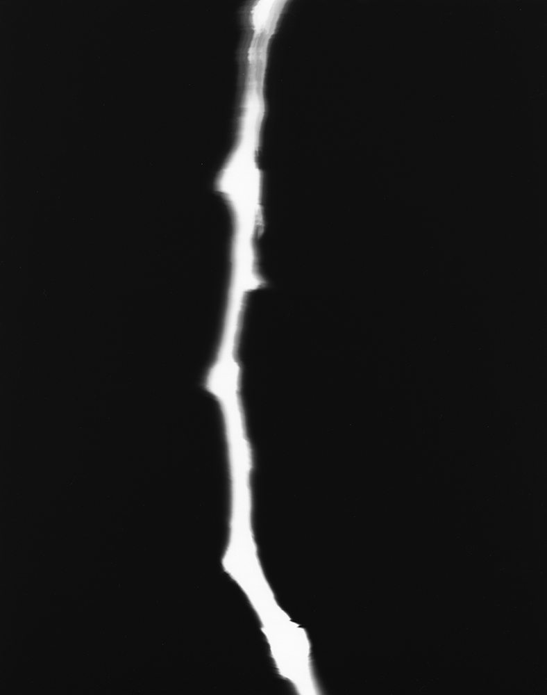 6. Untitled (b&w 36). 2016. Photogram.