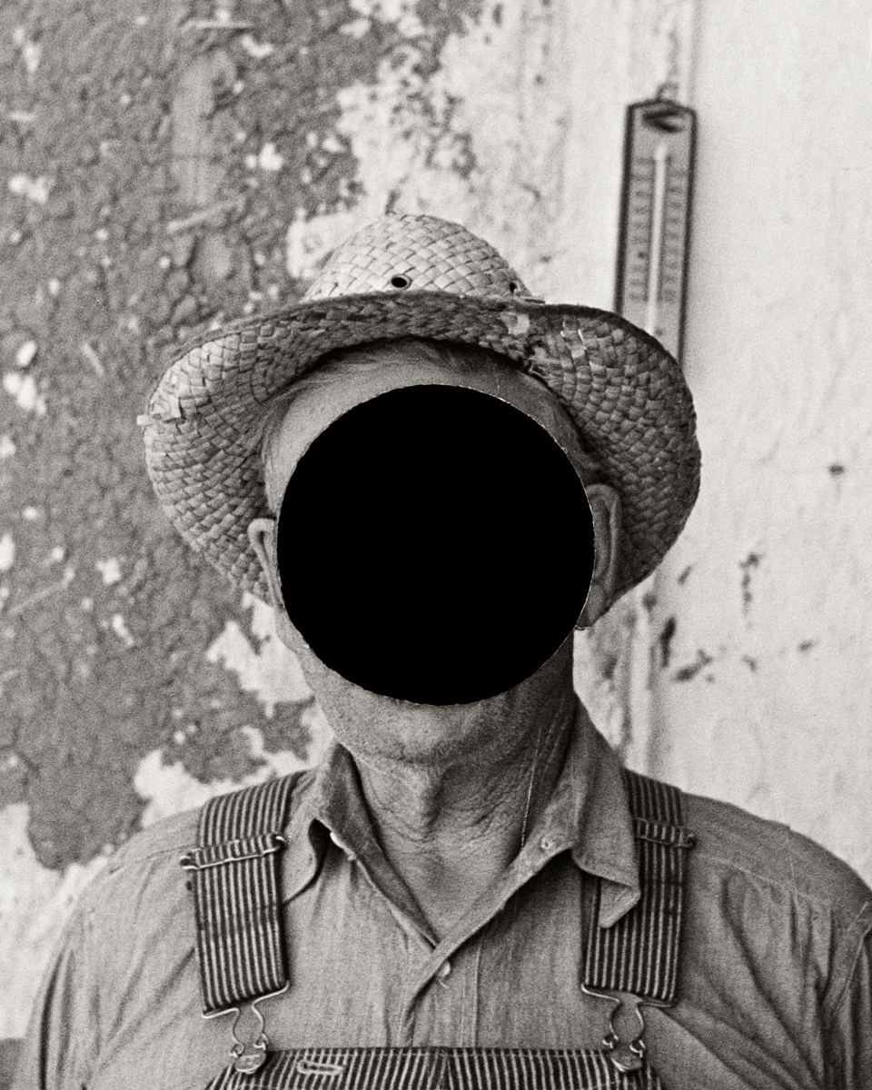 1. Mr. Tronson, farmer near Wheelock, North Dakota. 1937. Russell Lee. 8a22121 (detail)