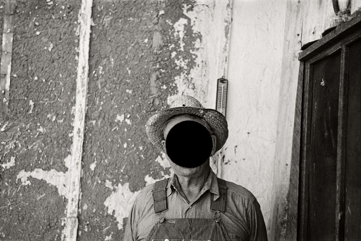 63. Mr. Tronson, farmer near Wheelock, North Dakota. 1937. Russell Lee. 8a22121