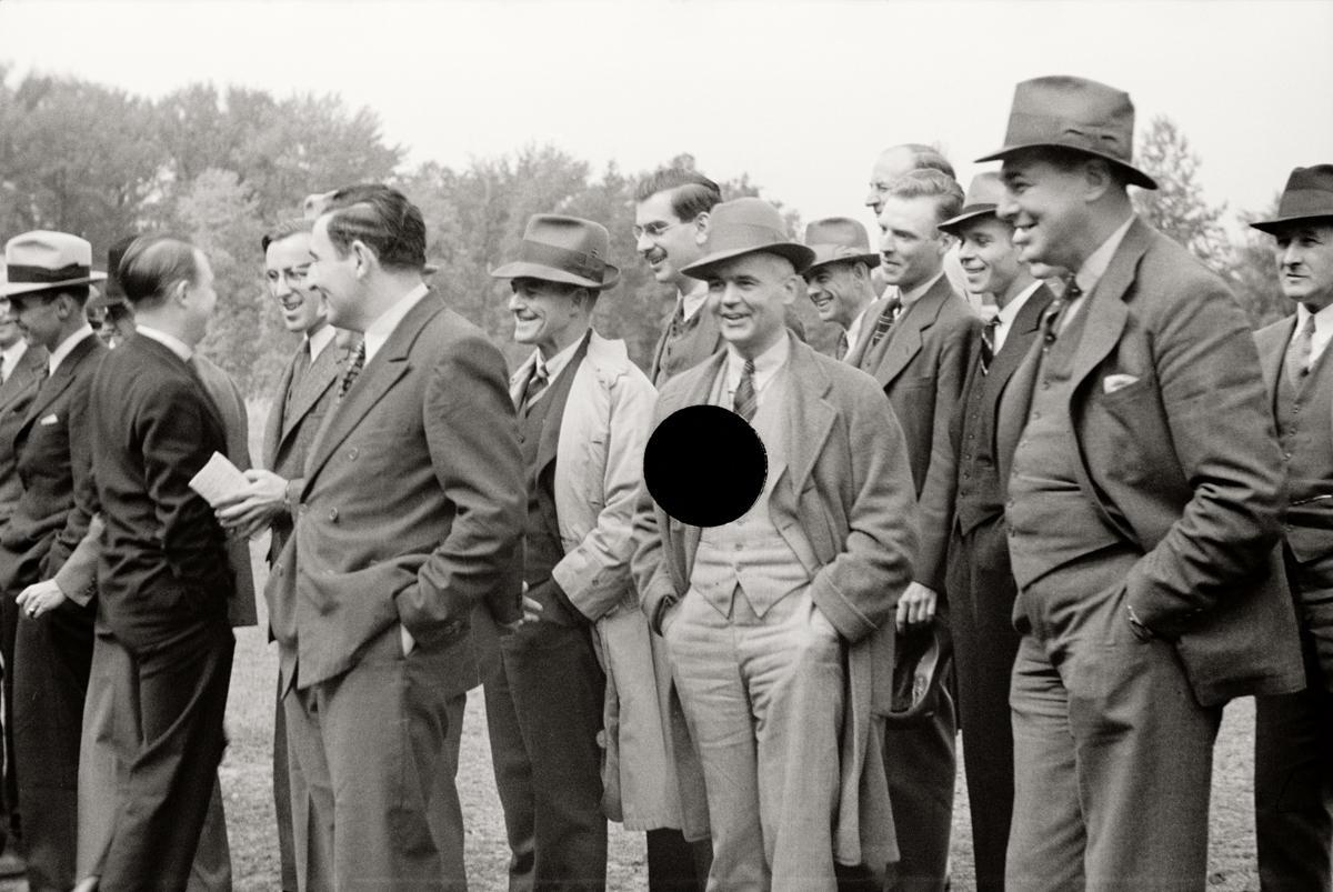 71. Resettlement officials. Maryland. 1935. Arthur Rothstein. 8a07564.