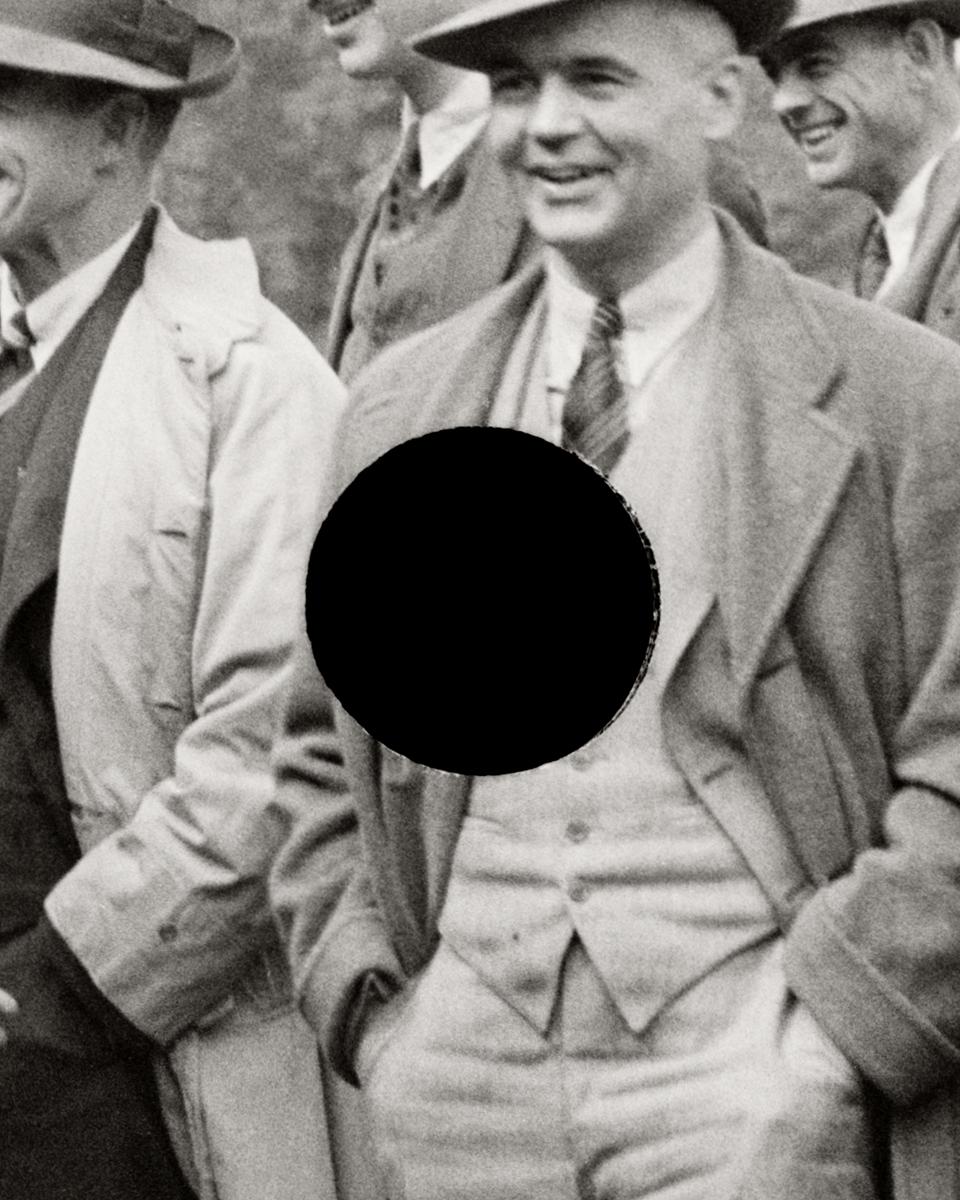 70. Resettlement officials. Maryland. 1935. Arthur Rothstein. 8a07564. (detail)