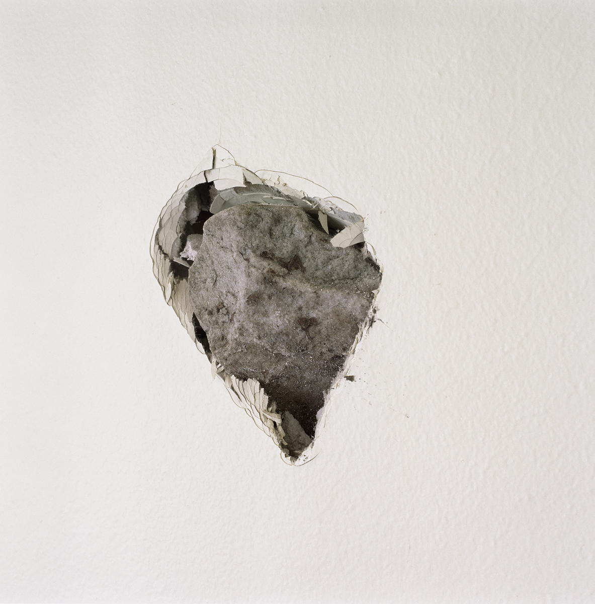 17. Untitled (Hole and Rock). 2005. Archival Pigment Print.