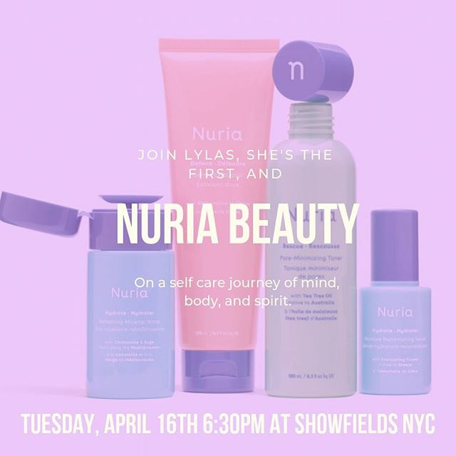 🚨 EVENT ALERT🚨  Have you gotten your ticket for our April Happy Hour? 100% of proceeds from this event benefit @shesthefirst, so gather your gals for a night self-care and community with guest speaker @kerri.lowe. Plus, be one of the first to experience @nuriabeauty new Biocellulose Masks in @showfields_nyc new Loft. Bubbles and light bites will be served- link in bio! #lylas