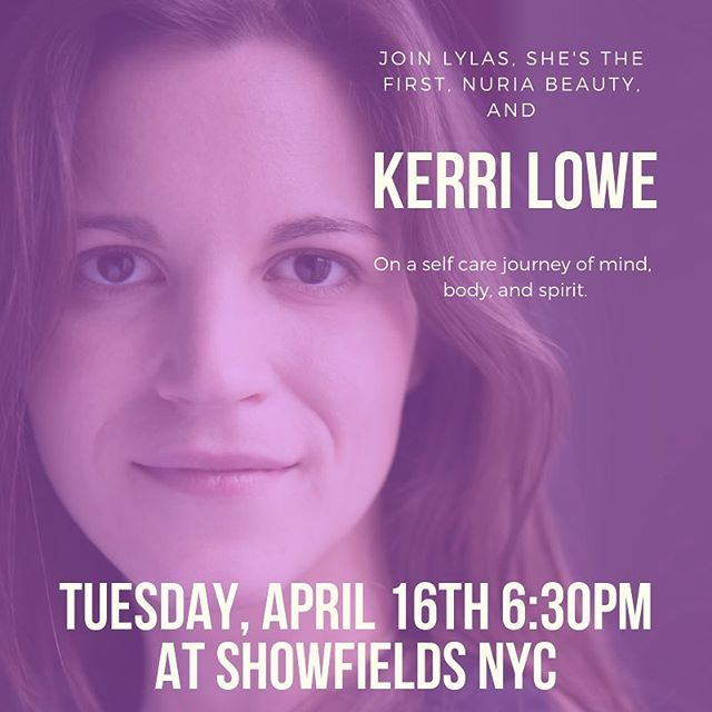 🚨 EVENT ALERT🚨  Tickets for our April Happy Hour are now available with the link in our bio! 100% of proceeds from this event benefit @shesthefirst, so gather your gals for a night self-care and community with guest speaker @kerri.lowe. Plus, be one of the first to experience @nuriabeauty new Biocellulose Masks in @showfields_nyc new Loft. Bubbles and light bites will be served! #lylas