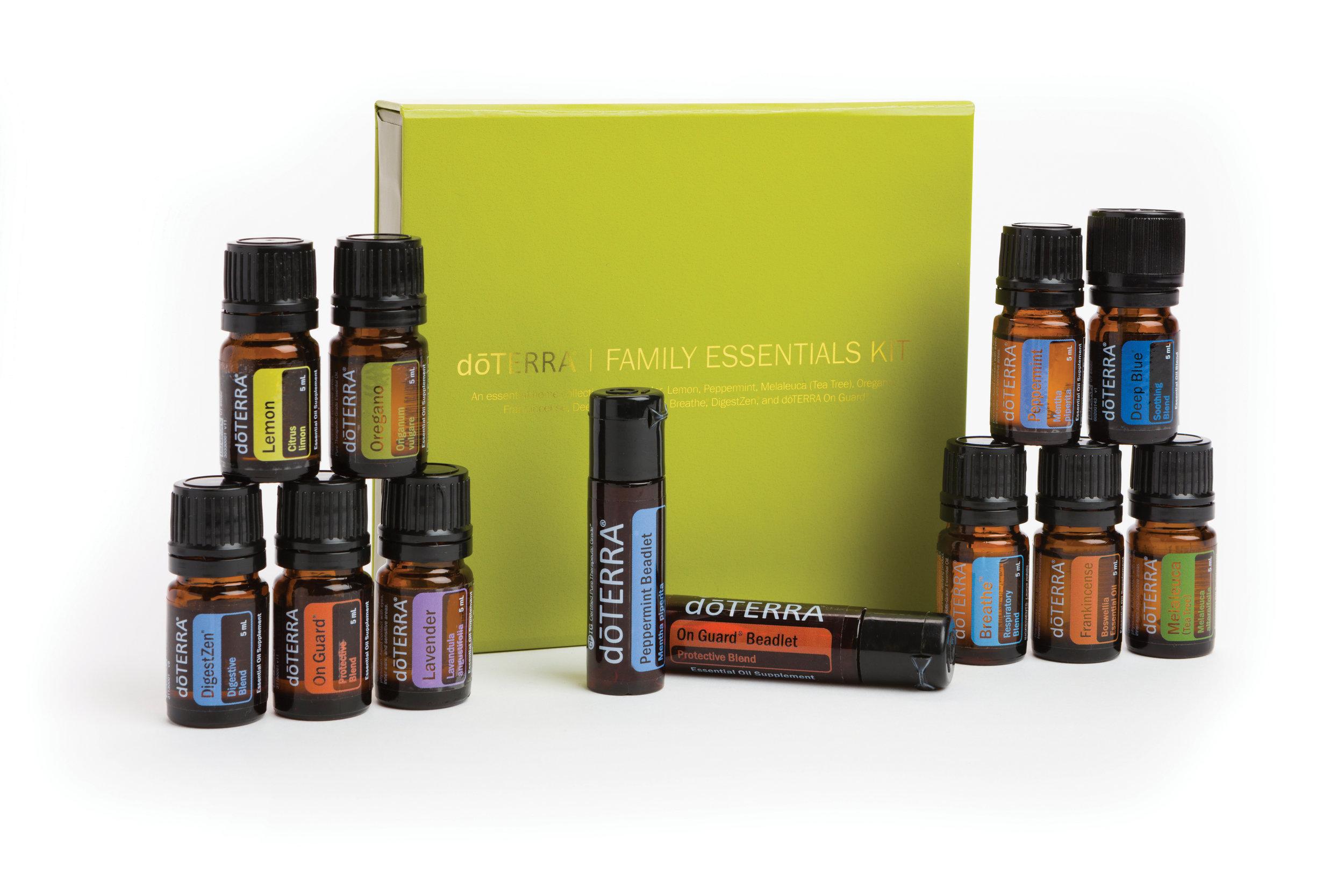 Family Essentials Kit  $150.00