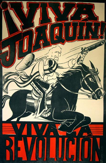 """Viva Joaquin   Lithograph 23""""x35"""""""